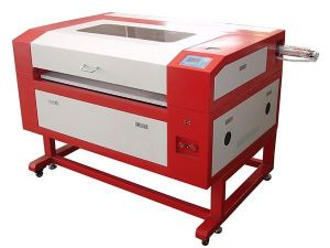 One of 4 laser cutters at FMK